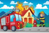 Comptine Au feu les pompiers
