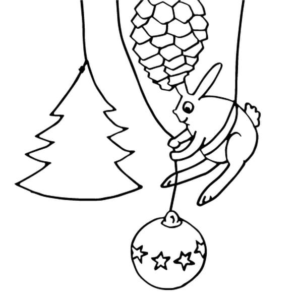 D corations de no l coloriage d corations de no l en for Decoration noel dessin
