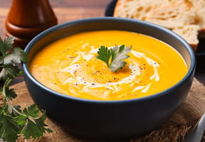Recette de soupe au potiron pour Halloween [VIDEO]