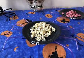 Assiette-araignée pour le goûter d'Halloween [VIDEO]