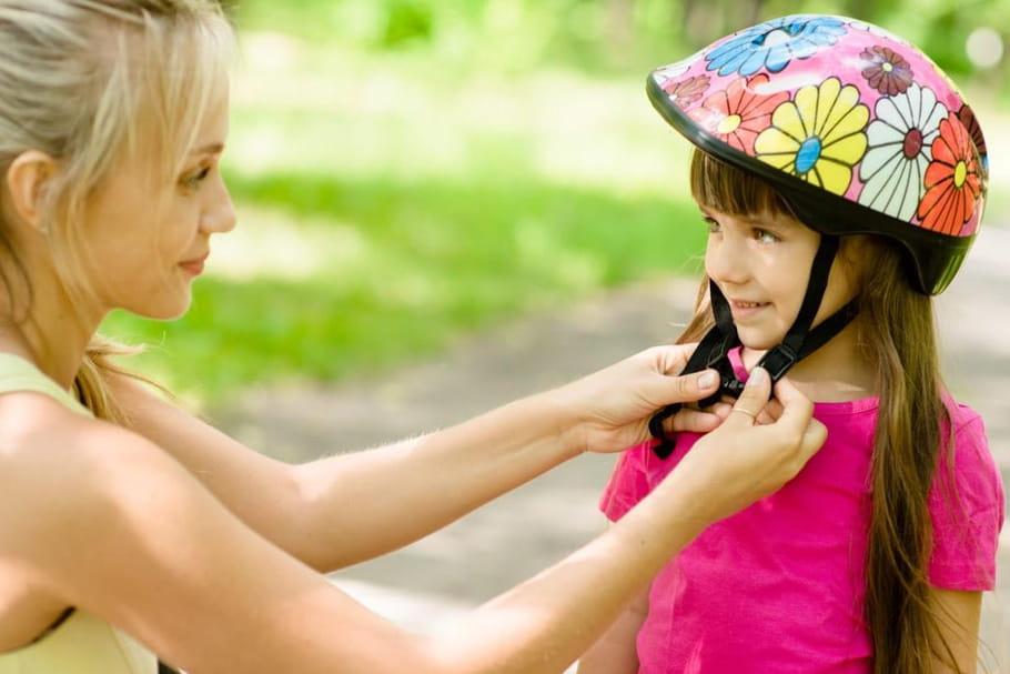 Les casques pour la sécurité des enfants