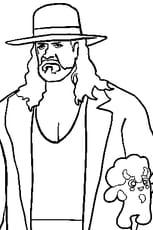 Coloriage Undertaker en Ligne Gratuit à imprimer