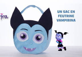 Un sac en feutrine Vampirina [VIDEO]
