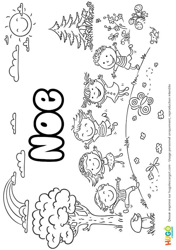 Noé prénom de garçon version4