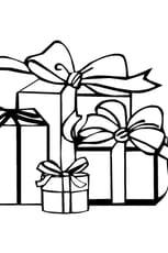 Coloriage cadeau en Ligne Gratuit à imprimer