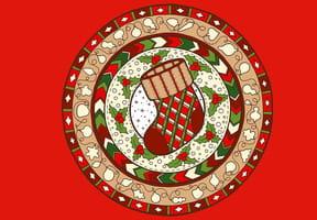 Mandala Noël