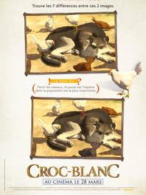 Croc-Blanc, le jeu des différences