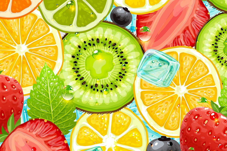 Coloriage fruits sur - Fruits coloriage ...