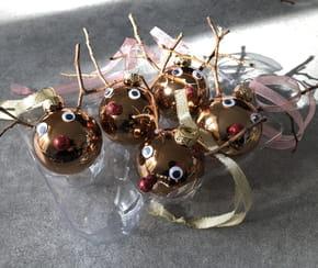 Boule de Noël personnalisée en renne [VIDEO]