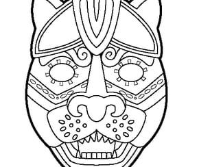 Masque de jaguar