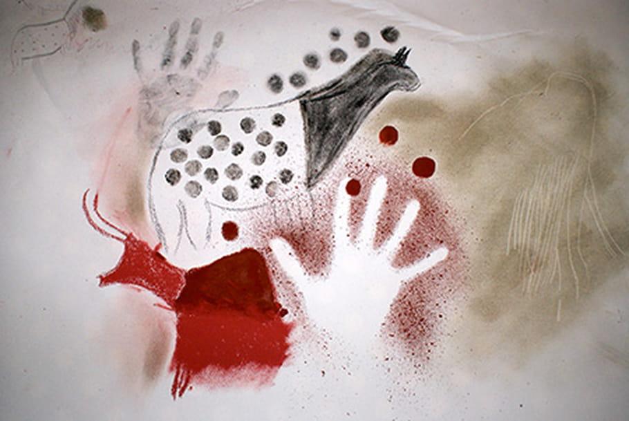 Apprends peindre comme les hommes pr historiques - Eliminer les pellicules avec du sel ...