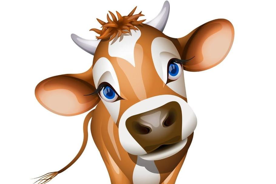Coloriage mandala vache sur Hugolescargot.com