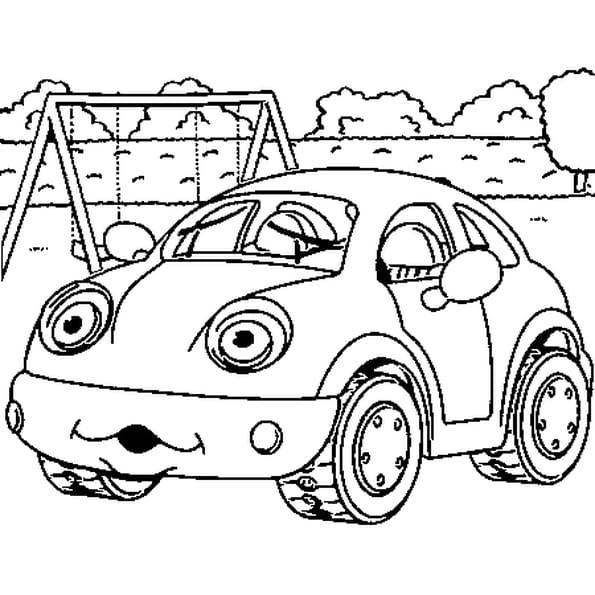 Croquis de voiture ancienne - Coloriage voiture ...