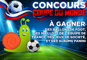 Concours memory de la coupe du Monde de foot