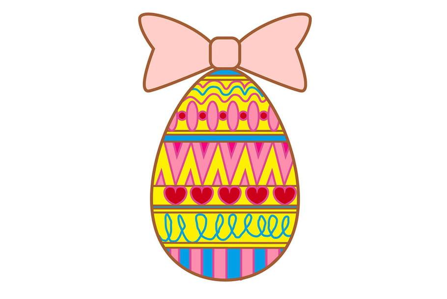 Apprendre à dessiner un œuf de Pâques