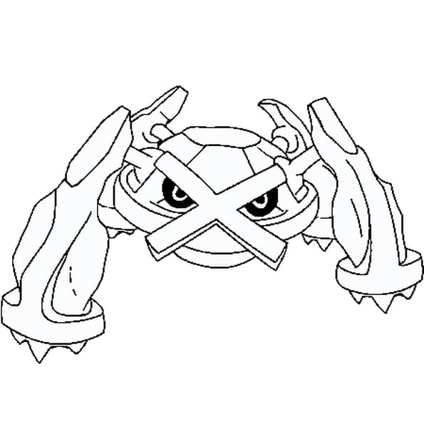 dessin pokmon metalosse a colorier