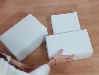 Étapes 1: Emballez les boites