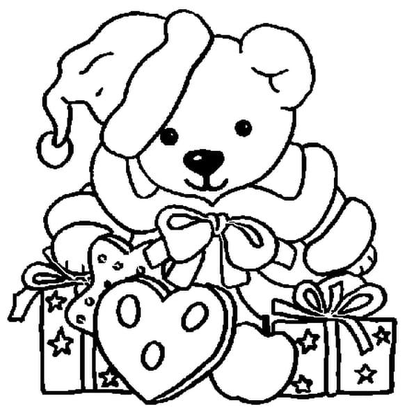 Coloriage Animaux Noel En Ligne Gratuit A Imprimer