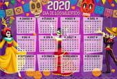 Dia de Los Muertos: calendrier 2020