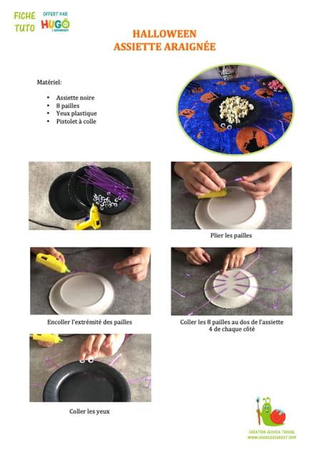 fabriquer-une-assiette-araignee-pour-le-gouter-d-halloween