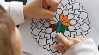 Étape 1: coloriez les mandalas