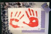 Cadre de mains