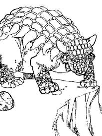 Ankylosaure enervé