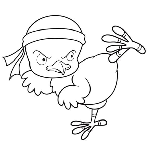 Karat poussin coloriage karat poussin en ligne gratuit a imprimer sur coloriage tv - Dessin de poussin ...