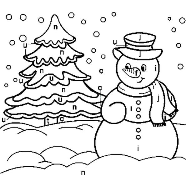 Cod hiver coloriage cod hiver en ligne gratuit a - Coloriage hivers ...