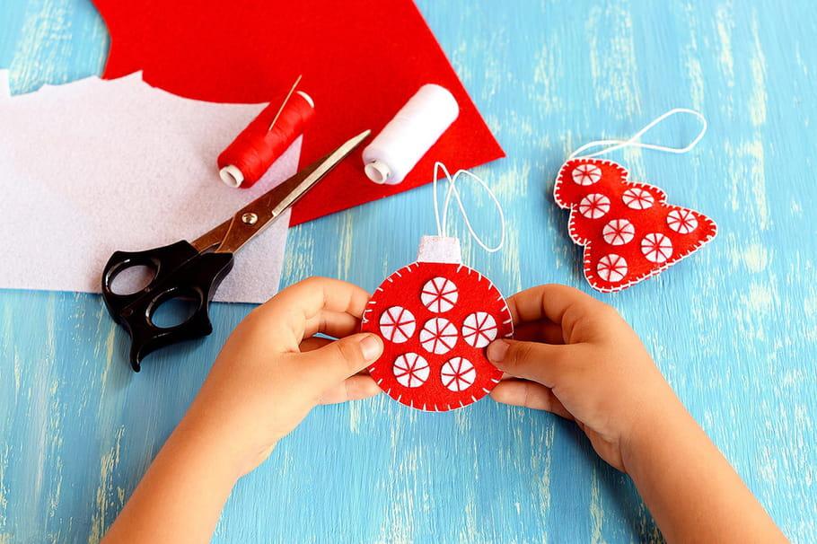 Boule de Noël: fabriquez une décoration pour votre sapin
