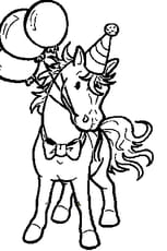 Coloriage Le Cheval