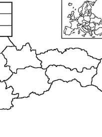 carte Slovaquie
