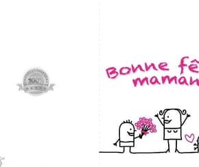 Carte fête des mères rigolote