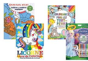 Cahiers de coloriages pour enfants