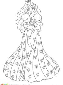 La Princesse et la grenouille, princesse de légende