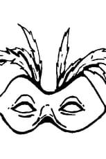 Coloriage Masque pour Carnaval