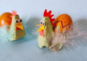 Les poulettes porte-œufs, décoration de Pâques [VIDEO]