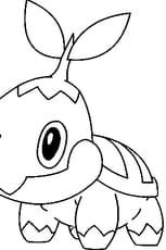 Coloriage Pokémon naeturo