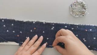 Étape 1: épingler vos tissus