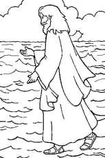 Coloriage Jésus En Ligne Gratuit à Imprimer