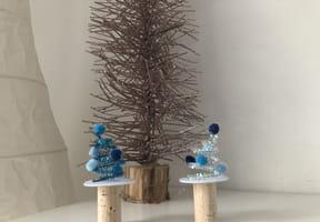 Sapin de Noël en fils chenille [VIDEO]