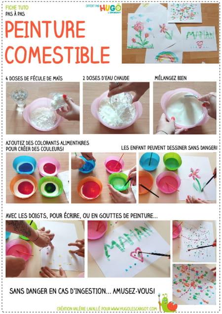 fabriquer-de-la-peinture-comestible