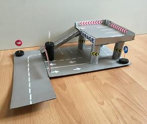 Fabriquez un garage en carton [VIDEO]