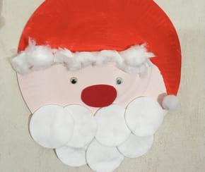 Père Noël en assiette en carton [VIDEO]