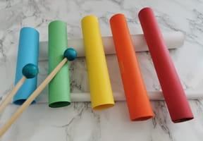 Fabriquer un xylophone