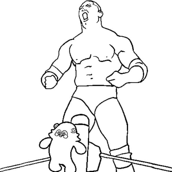 Dessin Catch Batista a colorier