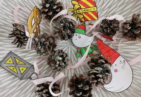 Guirlande de Noël en pommes de pin [VIDEO]