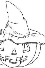 Coloriage Halloween Citrouille en Ligne Gratuit à imprimer