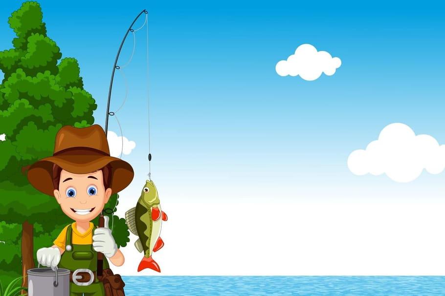 Comptine Le petit poisson et le pêcheur