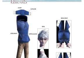 Figurine Jack Frost des Cinq Légendes
